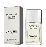 Мужская туалетная вода Chanel Egoïste Platinum (изысканный древесно-мускусный аромат)  AAT, фото 1