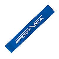 Резинка для фитнеса и спорта (лента-эспандер) эластичная SportVida Mini Power Band 1 мм SV-HK0104