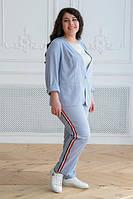 Льняной  костюм  женский  СК17