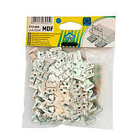 Кляймер для крепления МДФ 2мм (упаковка 100шт.)