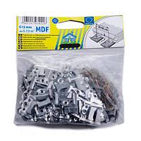 Кляймер для крепления МДФ 3мм (упаковка 100шт.)