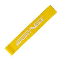 Резинка для фитнеса и спорта (лента-эспандер) эластичная SportVida Mini Power Band 0.6 мм SV-HK0102