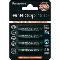 4шт аккумулятор Panasonic Eneloop Pro AA 2450 mAh, фото 1