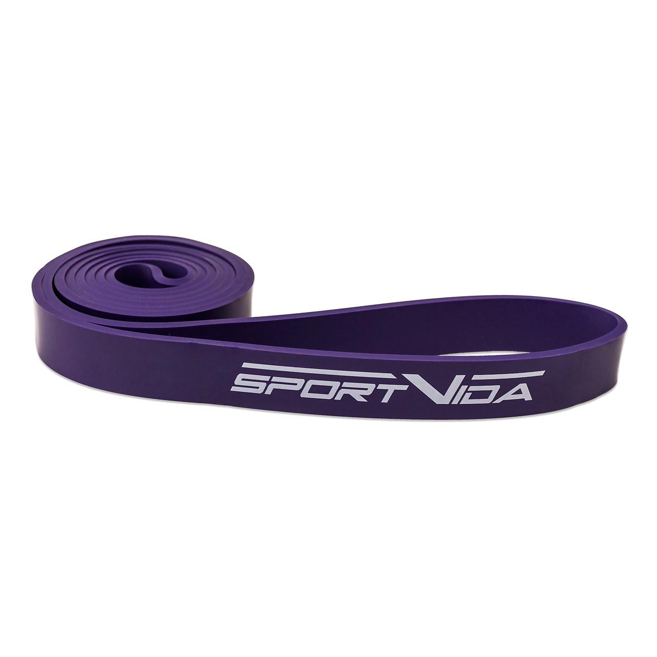 Эспандер-ленточный (резинка для фитнеса и спорта) SportVida Power Band 28 мм 17-26 кг SV-HK0046