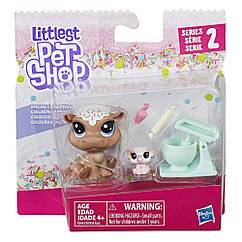 Littlest pet shop lps игровой набор Hasbro лпс Пет Шоп cookie hippomont & sugarplum elletrunk