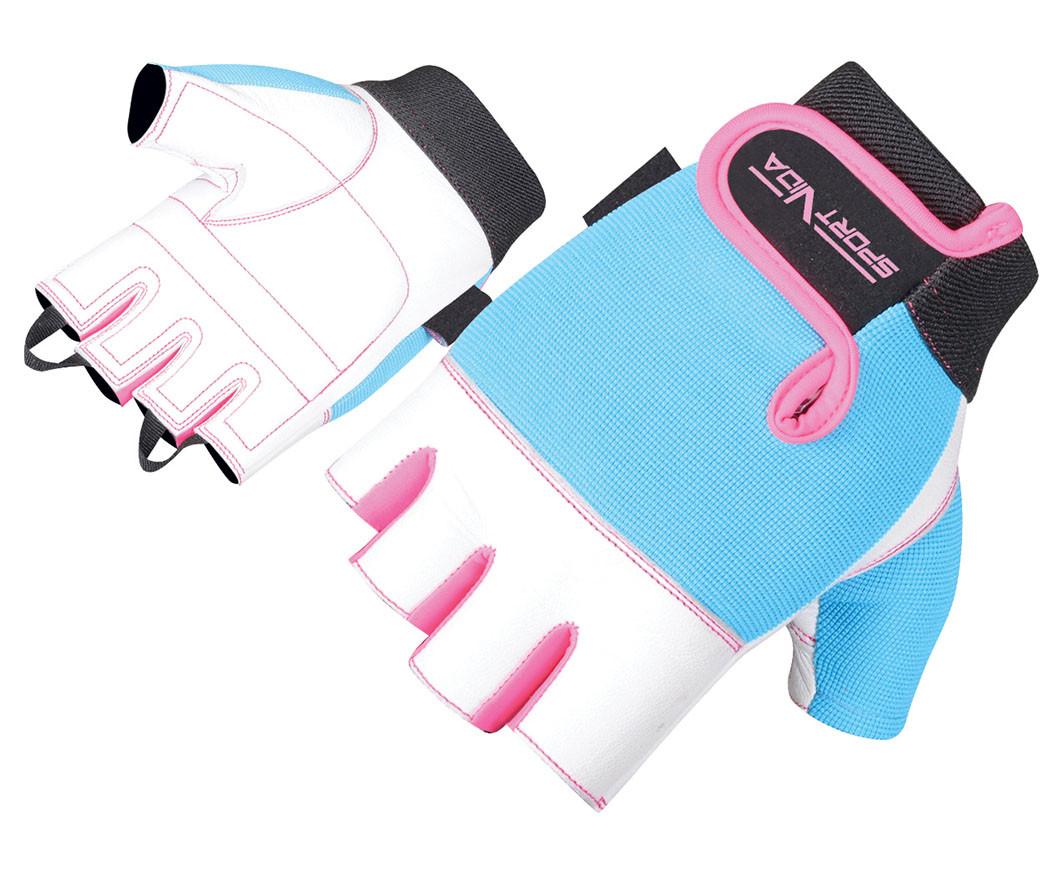 Перчатки для фитнеса SportVida SV-AG00039 (M) White