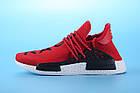 """Мужские кроссовки Adidas Pharrell Williams Human Race NMD """"Red"""" (в стиле Адидас НМД) красные, фото 2"""