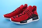 """Мужские кроссовки Adidas Pharrell Williams Human Race NMD """"Red"""" (в стиле Адидас НМД) красные, фото 3"""