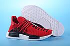 """Мужские кроссовки Adidas Pharrell Williams Human Race NMD """"Red"""" (в стиле Адидас НМД) красные, фото 4"""