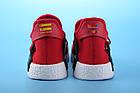 """Мужские кроссовки Adidas Pharrell Williams Human Race NMD """"Red"""" (в стиле Адидас НМД) красные, фото 5"""