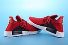 """Мужские кроссовки Adidas Pharrell Williams Human Race NMD """"Red"""" (в стиле Адидас НМД) красные, фото 6"""