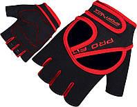Перчатки для фитнеса SportVida SV-AG0008 (XL) Black, фото 1