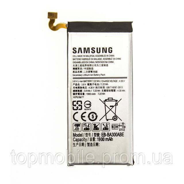 Аккумулятор  Samsung EB-BA300ABE, 1900mAh  (батарея, АКБ)