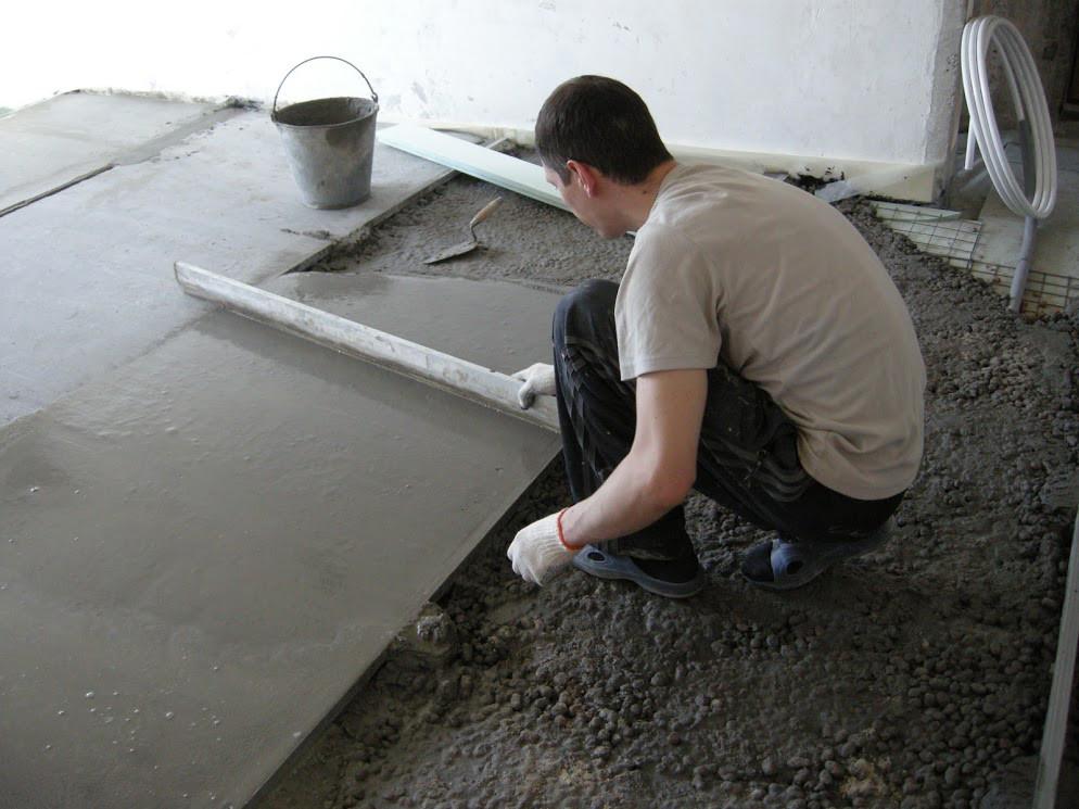 Бетонные работы здание Днепропетровск