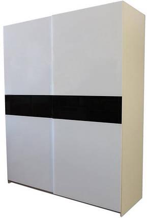 Шкаф-купе двухдверный с наружной раздвижной системой, фото 2