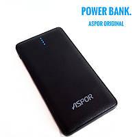 Powerbank внешний аккумулятор ASPOR A382 10500 mAh