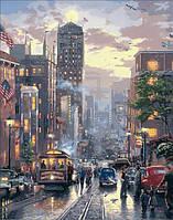Картины по номерам Пейзаж из прошлого Худ Томас Кинкейд (MR-Q1447) 40 х 50 см Mariposa