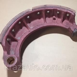 Колодка тормозная задняя КрАЗ 255Б-3502091-А