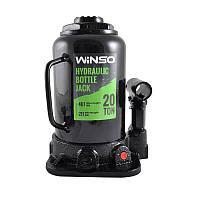 Домкрат Winso гидравлический телескопический 20т 217-407 мм 172100