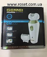 Професійний епілятор 2 в 1 Gemei GM600