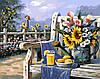 Рисование по номерам Подсолнухи и лимонад (BRM4660) 40 х 50 см