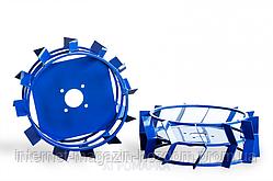 Колеса с грунтозацепами Ø 380 мм (квадрат 10х10, высота зацепа 40 мм) Агромарка