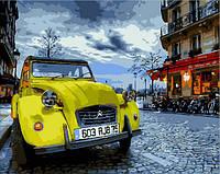 Картина по номерам машины Винтажное авто (MR-Q2090) 40 х 50 см Mariposa