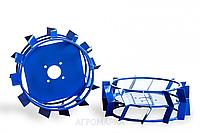 Колеса с грунтозацепами Ø 380мм (квадрат 10х10, высота зацепа 40 мм) Агромарка