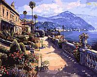 Раскраска по номерам DIY Babylon Солнечное Средиземноморье худ Парк, Сунг Сам (VP270) 40 х 50 см