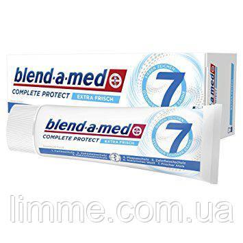 Освежающая зубная паста Blend-a-med Complete 7 Extra Fresh 75 ml