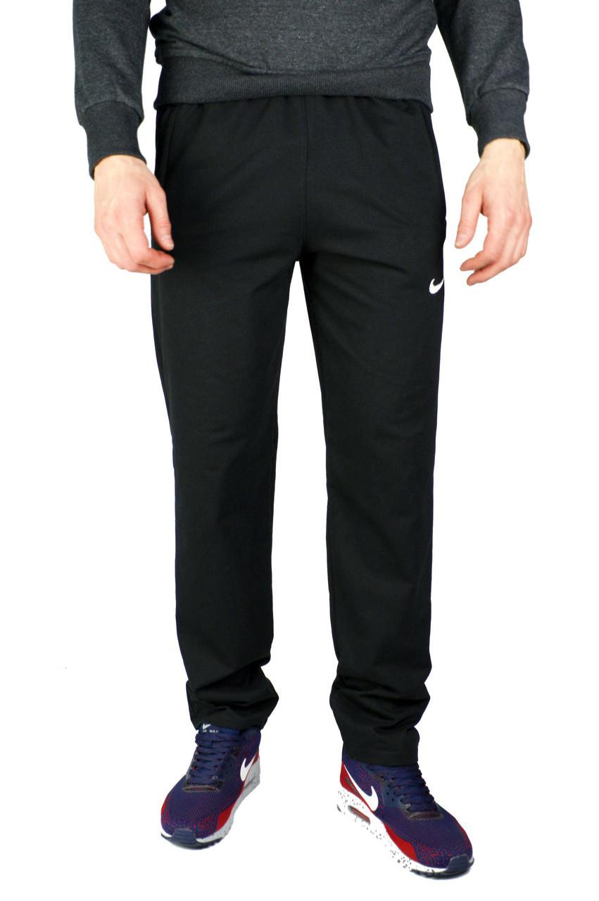 Черные мужские спортивные трикотажные штаны NIKE