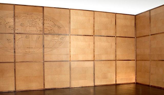 Купить стеновые панели из ткани, кожи
