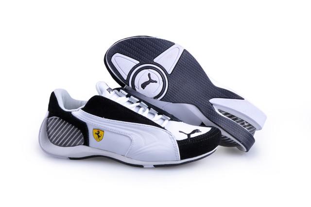 Кроссовки Puma Trionfo Lo GT II Ferrari White/Black пума феррари мужские женские реплика, фото 1