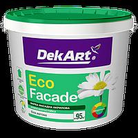 Водоэмульсионная краска фасадная DEKART 20кг
