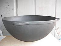 Казан чугунный азиатский, эмалированный , без крышки. Объем 6,0 литров., фото 1