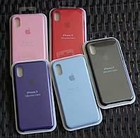 Силиконовый чехол Apple для iPhone X, фото 1