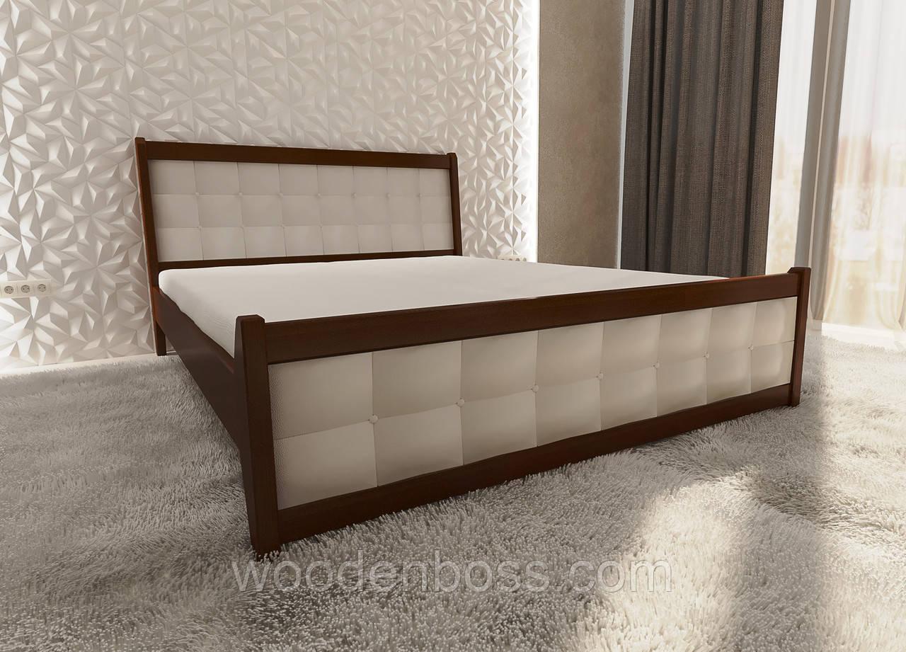 """Кровать полуторная от """"Wooden Boss"""" Глория Люкс (спальное место 120х190/200)"""