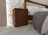 """Кровать полуторная от """"Wooden Boss"""" Глория Люкс (спальное место 120х190/200), фото 2"""