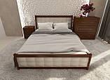 """Кровать полуторная от """"Wooden Boss"""" Глория Люкс (спальное место 120х190/200), фото 3"""