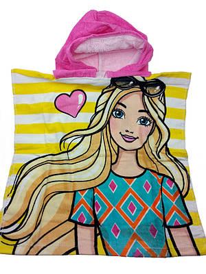 Полотенце с капюшоном для девочки