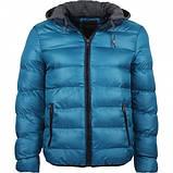Куртка зимняя мужская с трикотажным капюшоном, фото 4
