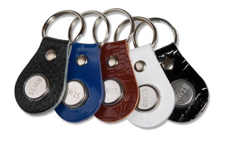 Ключ для домофона и системы доступа RW15 кожа, фото 2
