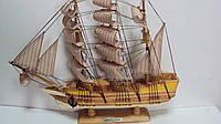 Корабль деревянный декоративный размер 45*40