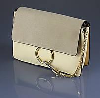 Женская сумка Chloe. {есть:кремовый}