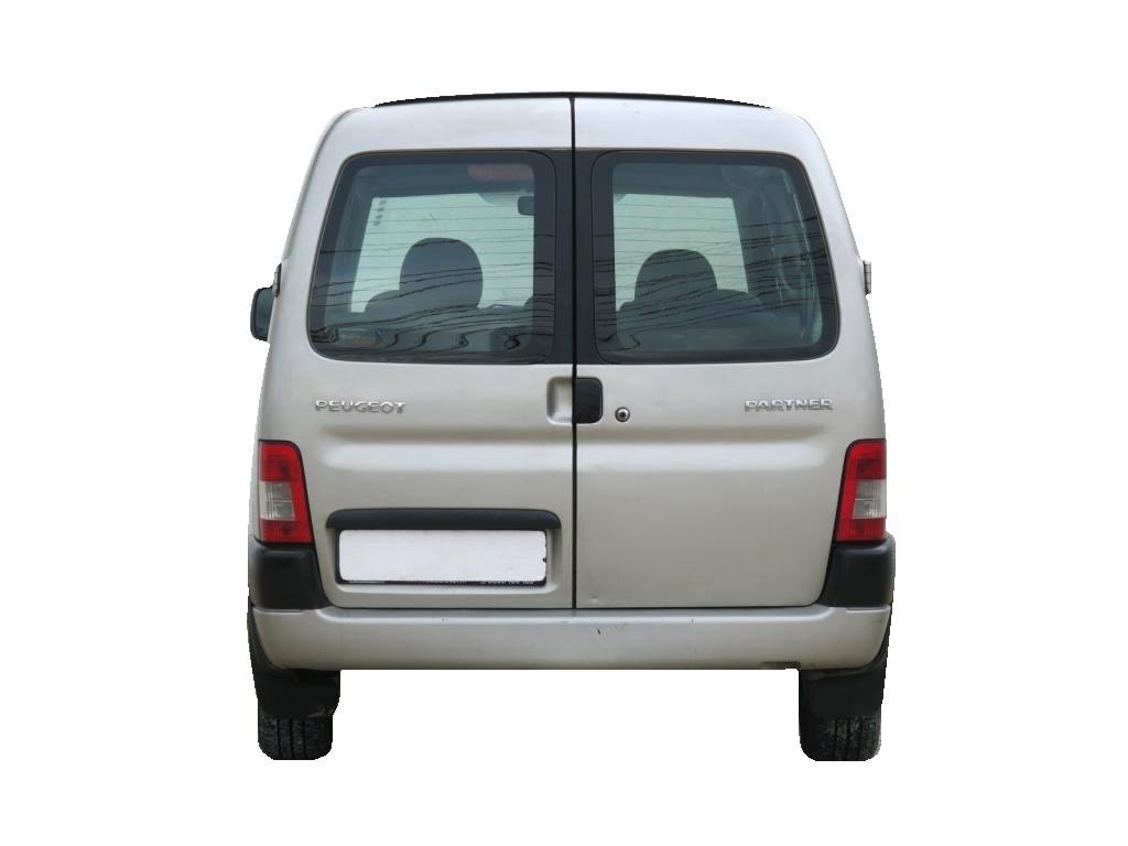 Стекло задней двери Peugeot Partner 1996-2008 распашонка