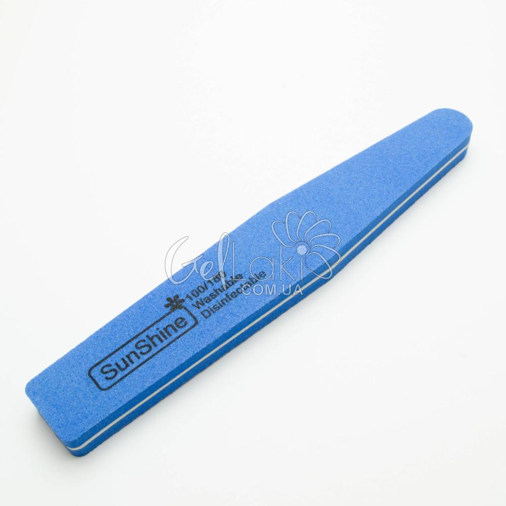 Шліфувальник для нігтів 100/180 (синій)