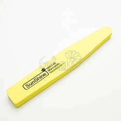 Шлифовщик для ногтей 100/180 (желтый)