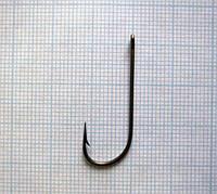 Крючок двугибый с кольцом и удлиненным стержнем тип VIII 10-1-30, 400шт.