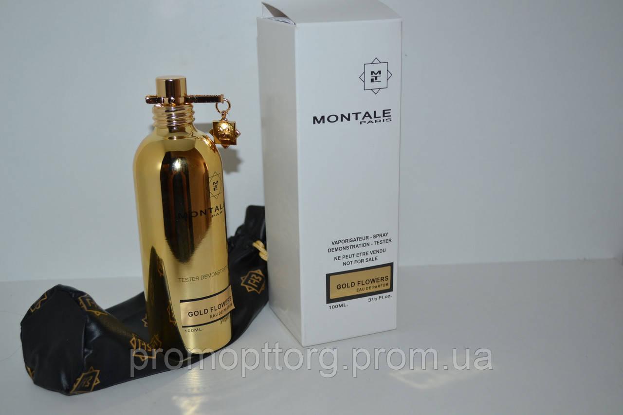 Тестер  Montale Paris Gold Flowers edp  (купить тестер монталь голд флауэрз, лучшая цена)
