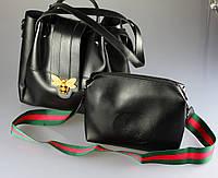 Женская сумка Gucci оптом. {есть:черный}, фото 1